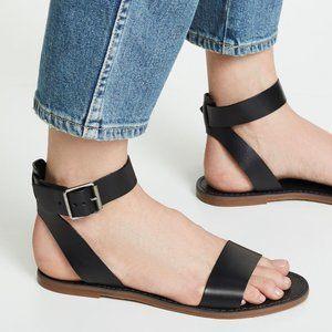 Madewell Boardwalk Leather Sandal Size 6.5 US